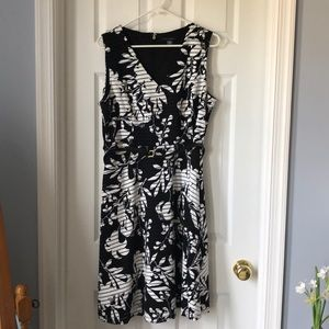 Black and white Tommy Hilfiger dress